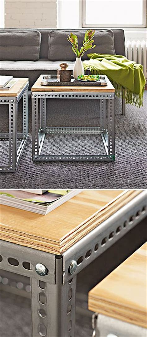 industrial coffee table diy sleek and stylish diy coffee tables caves industrial side table and side tables