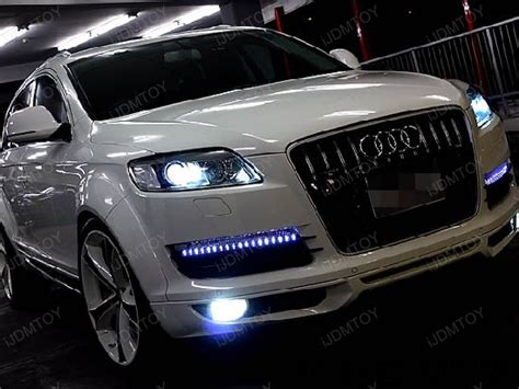 audi q7 led lights 2007 2009 mdx audi q7 led mod challenge acura mdx