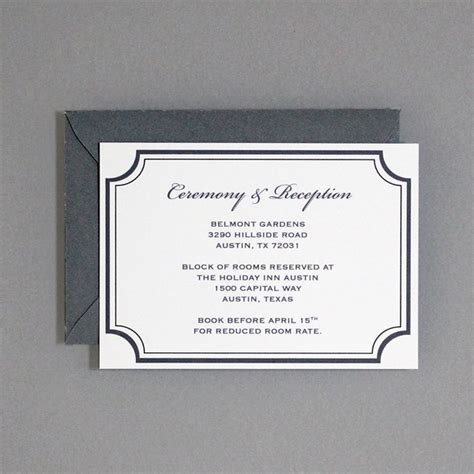 reception cards template florid scroll reception card template print