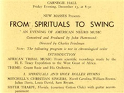from spirituals to swing cold war rock timeline part one