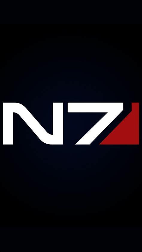 N7 Mass Effect mass effect n7 logo vector www pixshark images