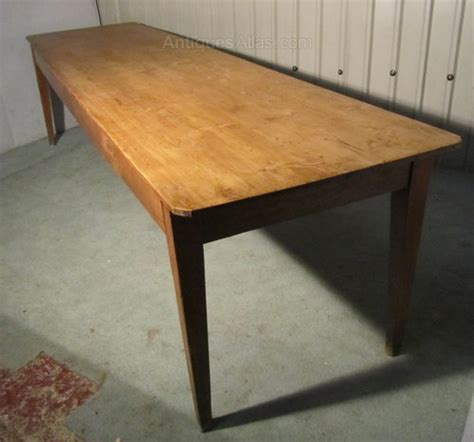 a large pine farmhouse kitchen table antiques atlas