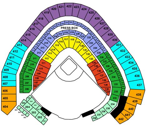 miller park seating map miller park tickets miller park milwaukee tickets