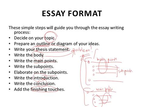 steps in writing a paper lecture 17 essay writing ppt