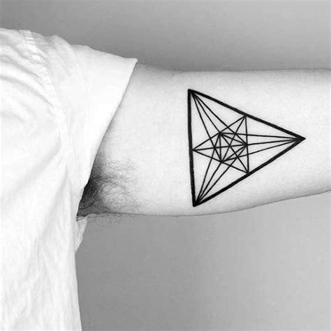 small geometric tattoos 50 small geometric tattoos for manly shape ink ideas