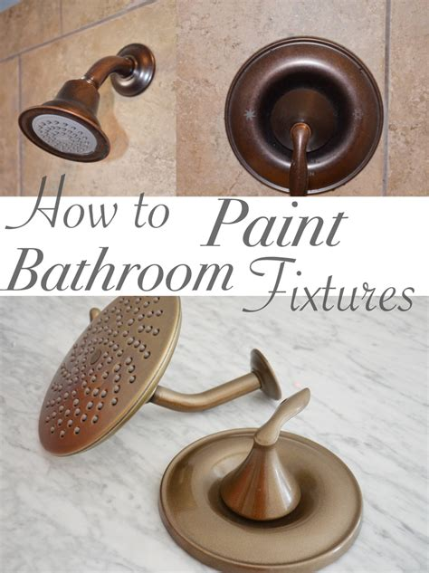 How To Paint Bathroom Fixtures One Room Challenge Week 3 Bathroom Vanity And Painted Faucets Remington Avenue