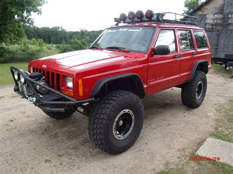 how much are jeep cherokees bushwacker flat flares how much do they open up the wheel