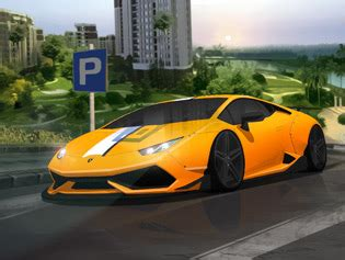 play free supercars rain parking game online games on