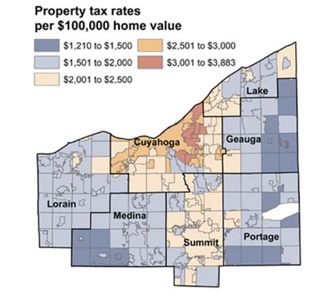 Summit County Property Tax Records Ohio Cuyahoga County Property Taxes Due Thursday Other Counties In February Cleveland