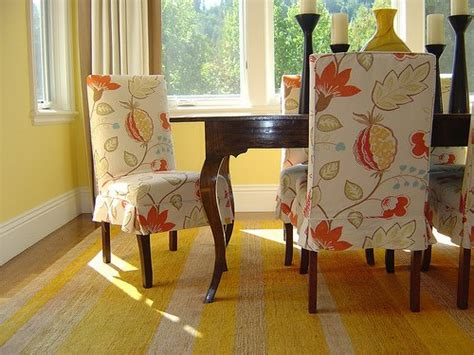 Dining Room Chair Slipcover Patterns Dining Room Furniture New Look With Dining Chair Slipcover Www Nicespace Me