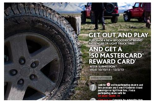 bj's bf goodrich tire coupons