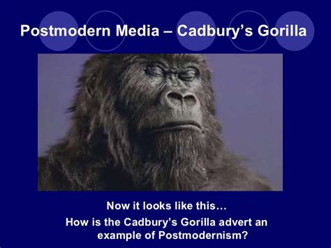 Wonderbra Recreates Cadbury Gorilla Advert For by 03 G325 Contemporary Media Issues Intro To Section B