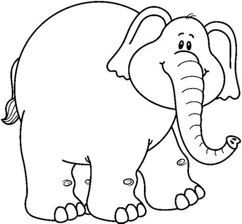 elephant outline coloring pages elephant outline clip art cliparts co