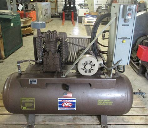 american imc inc air compressor model t35 a 801h ebay