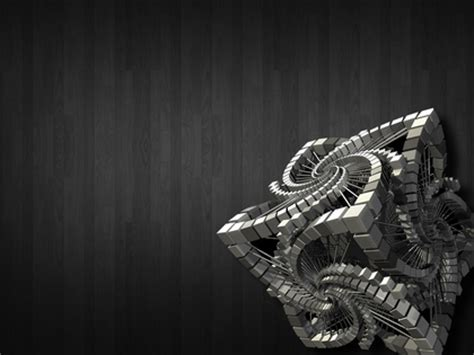 3d rendered wallpapers abstract grey spiral cubes 3d render 3d gray background