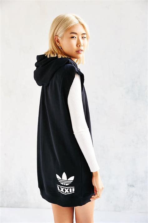 Dress Hodie Adidas lyst adidas berlin hooded dress in black