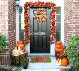 Front Door Decoration Ideas For Fall Fall Decorating Ideas Analog In A Digital World