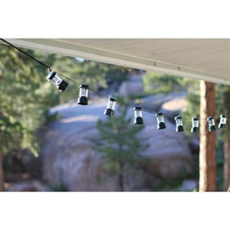 coleman led string lights cing classic lantern shape rv