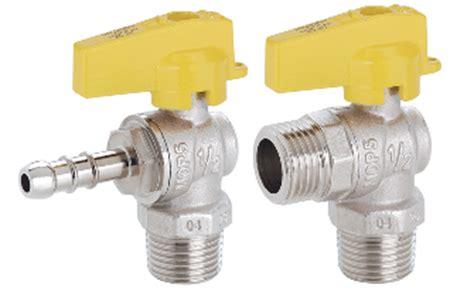 rubinetti per gas valvole a sfera per gas rivelatori flessibili e