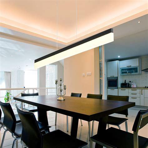Led Dining Room Light Aliexpress Buy Modern Led Pendant Lights For Dining Room Bar Light Length 120cm Pendant