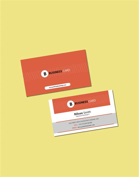 business card website templates free website templates free psd template free html