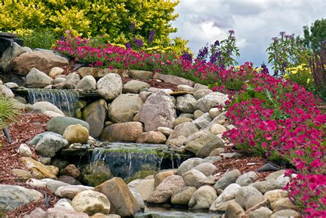 Pebbles And Rocks Garden All About Using Landscape Stones Rocks Asphalt Materials