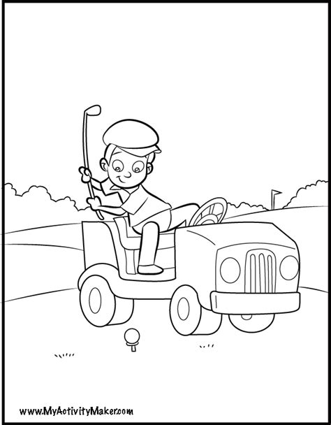 coloring page maker free golf coloring page coloring home