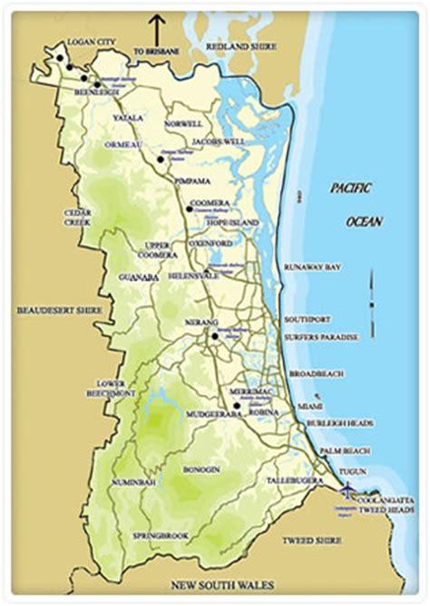 printable map hervey bay leaflet distribution gold coast full colour design print