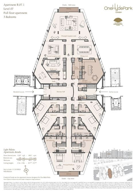 One Hyde Park Floor Plans | knl110129 14 jpg 1754 215 2480 places to visit pinterest