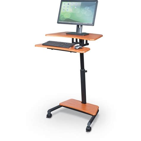 adjustable standing desk workstation up rite workstation height adjustable sit stand desk
