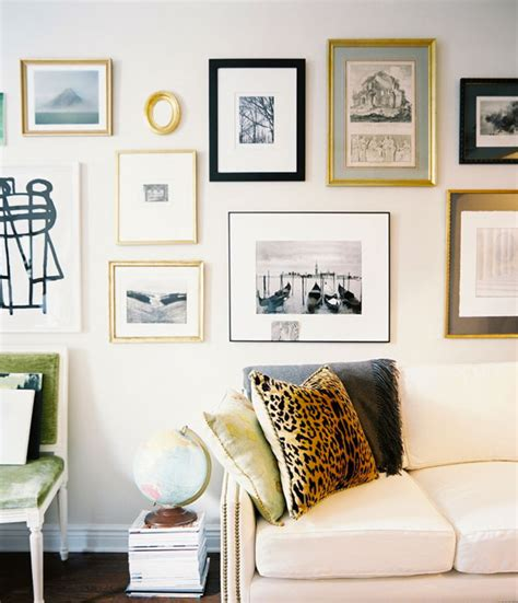 how to design a gallery wall decorar paredes con marcos
