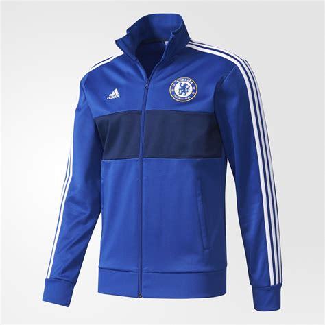 Jaket Adidas 3 Stripe adidas chelsea football club 3 stripes track jacket