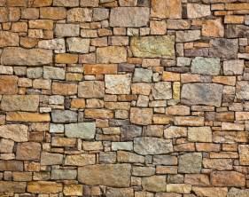brick effect wall garden custom wallpaper mural print by jw amp shutterstock