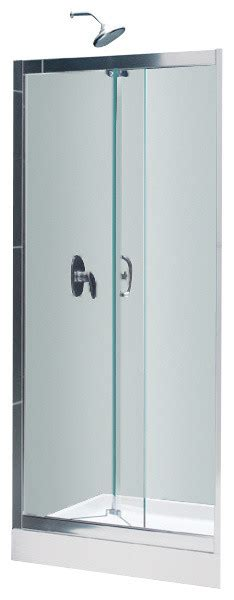 Butterfly Shower Door Dreamline Butterfly Bi Fold Shower Door And Slimline 32 Quot X 32 Quot Shower Base Contemporary