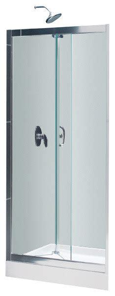 Butterfly Shower Door Dreamline Butterfly Bi Fold Shower Door And Slimline 32 Quot X 32 Quot Shower Base Contemporary