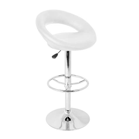 posh bar stools lumisource posh bar stool white bs tw posh w