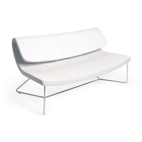 white faux leather loveseat shop j m furniture hollywood white faux leather loveseat