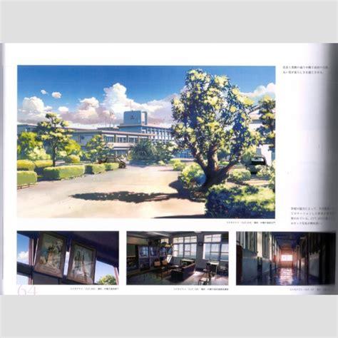 Makoto Shinkai Artbook A Sky Longing For Memories
