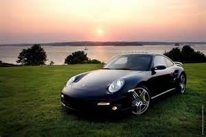 Porsche Sunset Black Porsche And Sunset Wallpaper 41586