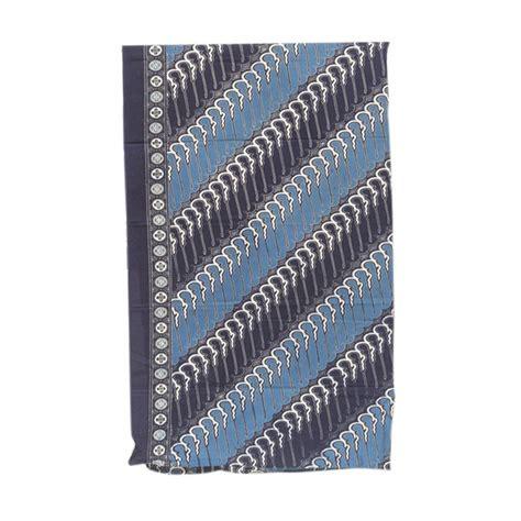 Kain Batik Katun Primis Cap 2 jual smesco trade batik cap pekalongan katun 2m ad motif parang biru dongker kain batik