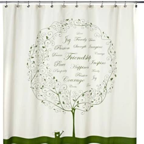 bed bath and beyond tree shower curtain buy shower curtain with palm tree motif from bed bath beyond