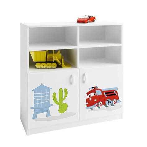 cars bookcase 90 cm azura home design
