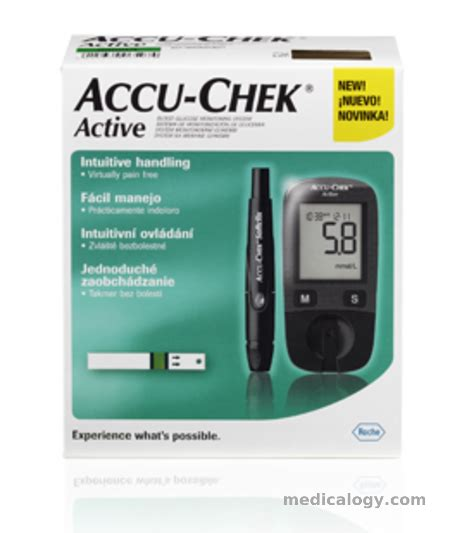 Alat Gula Darah Accu Check Active by Jual Accu Chek Active Alat Cek Gula Darah Murah