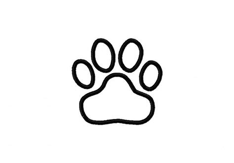 Coloring Page Tiger Paw | free coloring pages of tiger paw