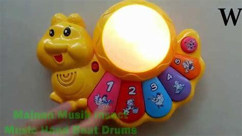 Mainan Musik Piano Drums Siput mainan musik drum buat bayi 1 tahun insect beat