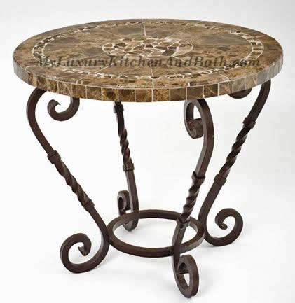 wrought iron table base handmade for coffee tables dining
