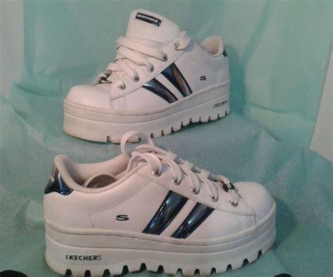 90s Skechers by Vtg 90 S Skechers Active Sneakers Sz 7 5 Sporty Platform