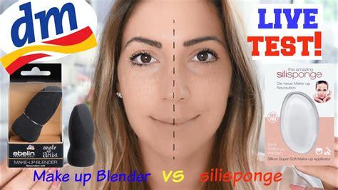 dm haul livetest 2017 silisponge vs ebelin make up blender silikon blender