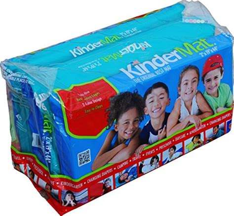 Preschool Nap Mats Vinyl by Kindermat Jr Daydreamer Nap Mat 2 Inch Blue And Teal