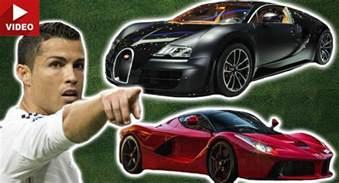 cristiano ronaldo new car a rundown of cristiano ronaldo s 10 most awesome cars